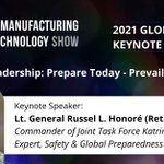 Join us in #Cleveland for a keynote speech by Lt. General Russel L. Honoré (Ret.). He will address 'Resilient Leadership: Prepare Today - Prevail Tomorrow' at the M&T Show, taking place Nov 9-11, 2021. Learn more at https://t.co/kIpmgJ5Ktw #leadership #mfg #manufacturing