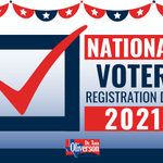 """Today is #NationalVoterRegistrationDay. We may not have a """"big-ticket"""" election, but it is still important to vote in the upcoming election on Nov. 2nd, 2021. We have proposed Constitutional Amendments to your Texas Constitution on the ballot this year. #txlege"""