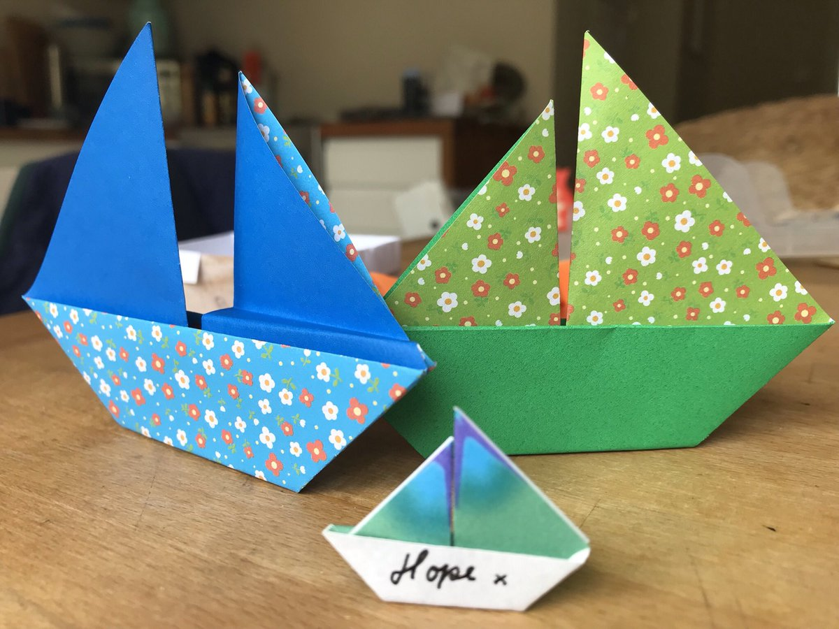 Have you seen the brilliant @AirArtsUHDB origami packs and boredom buster newspapers available for patients @UHDBTrust? Please request these from info@airarts.net