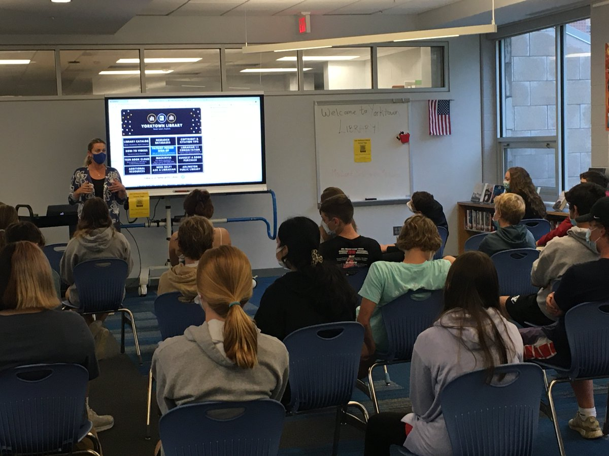 Double the fun with 9th grade English/World History block👯😀 Welcome to Yorktown, new Patriots! <a target='_blank' href='http://twitter.com/cmwiedemann'>@cmwiedemann</a> <a target='_blank' href='http://twitter.com/YorktownAPs'>@YorktownAPs</a> <a target='_blank' href='http://twitter.com/YorktownHS'>@YorktownHS</a> <a target='_blank' href='http://twitter.com/YorktownSentry'>@YorktownSentry</a> <a target='_blank' href='http://twitter.com/Principal_YHS'>@Principal_YHS</a> <a target='_blank' href='http://twitter.com/APSLibrarians'>@APSLibrarians</a> <a target='_blank' href='https://t.co/Vwp5XySn6C'>https://t.co/Vwp5XySn6C</a>