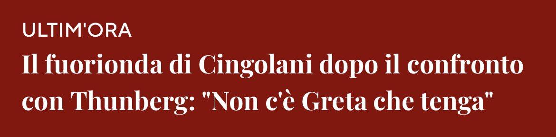 #Cingolani