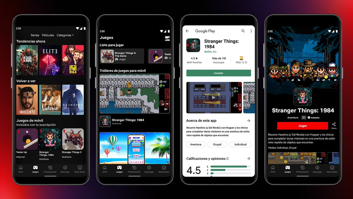 Netflix's latest mobile games have nothing to do with its shows
