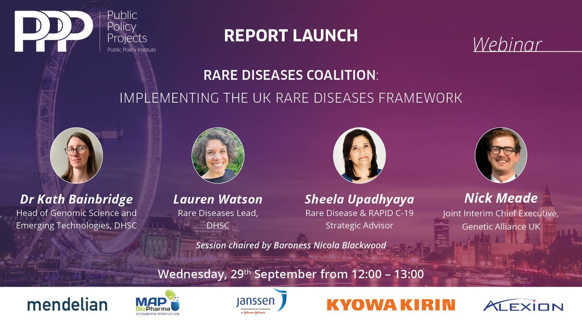 test Twitter Media - 🚨Tomorrow 12:00-13:00, 'Rare Diseases Coalition: Implementing the UK Rare Diseases Framework'  🧬An ambitious and bold report in its recommendations on how to implement the UK Rare Diseases Framework is sure to be an insightful webinar.   ✔️Register here: https://t.co/IhhZEDbpAy https://t.co/Anno9OarcX