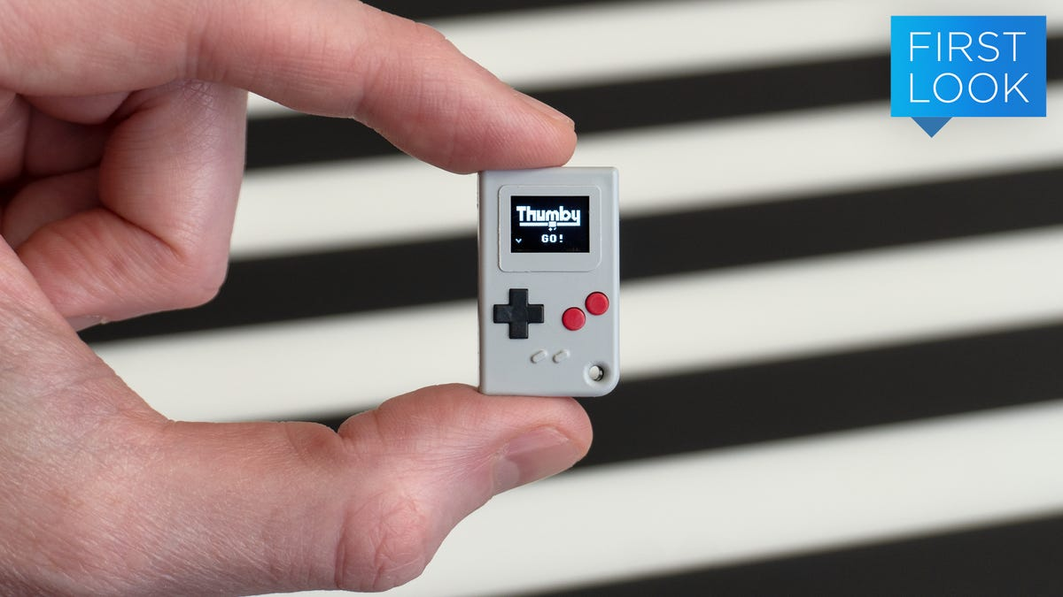 How Small Is Too Small for a Game Boy? The Thumby Might Have the Answer
