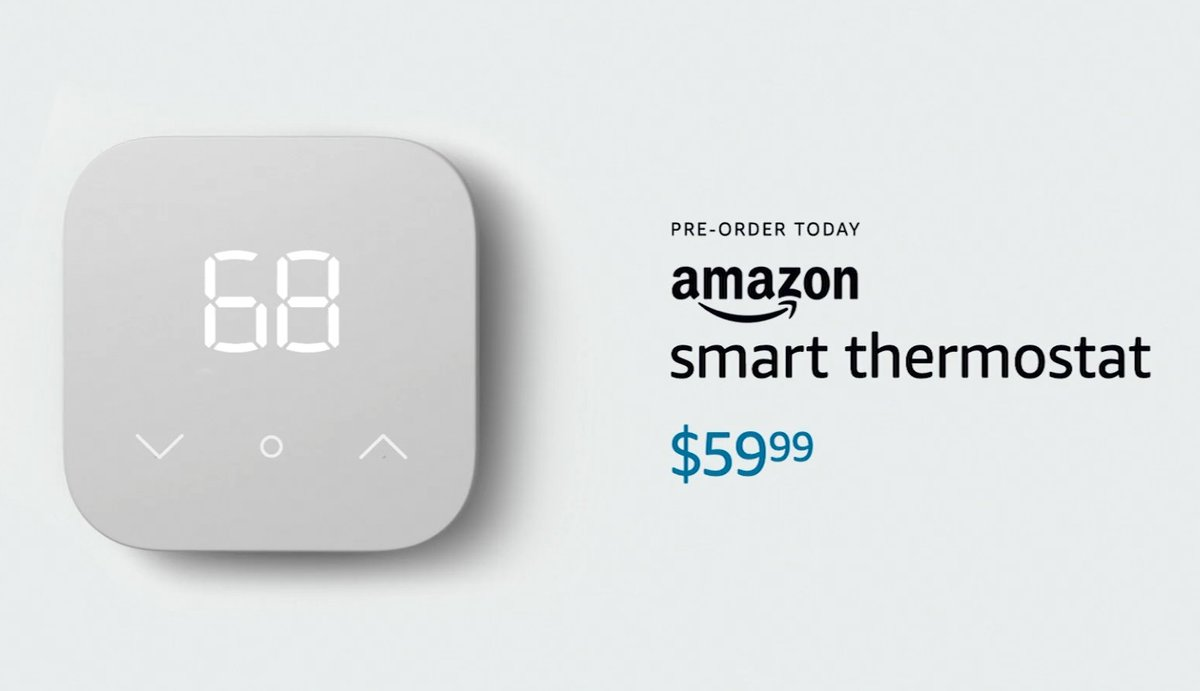Amazon takes on Nest with a $59.99 smart thermostat