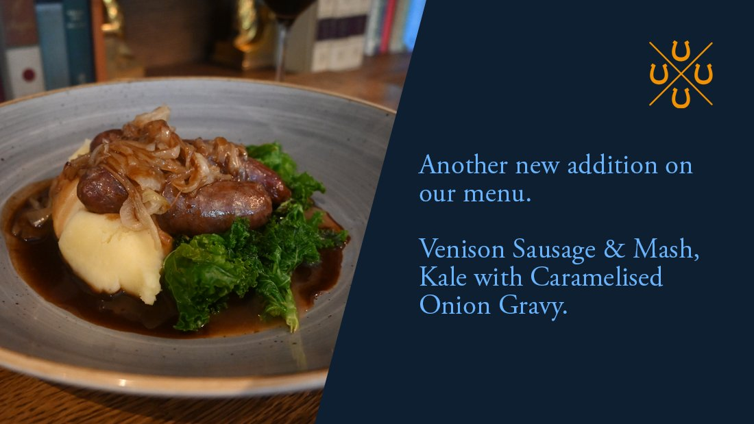 The @fourhorseshoess #Chefs are a #Talented bunch and always #Inspiring - Here's a new #Perfect #Autumn #Sausage dish. Another great reason to book a table for a #Meal with us  Or CALL 023 8017 4355 #Southampton #Restaurant #Hampshire #Romsey #InstaFood