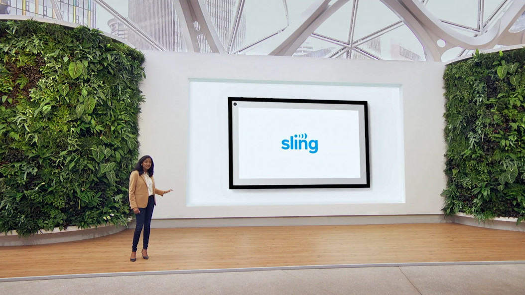 Sling TV coming to all existing Echo Show devices