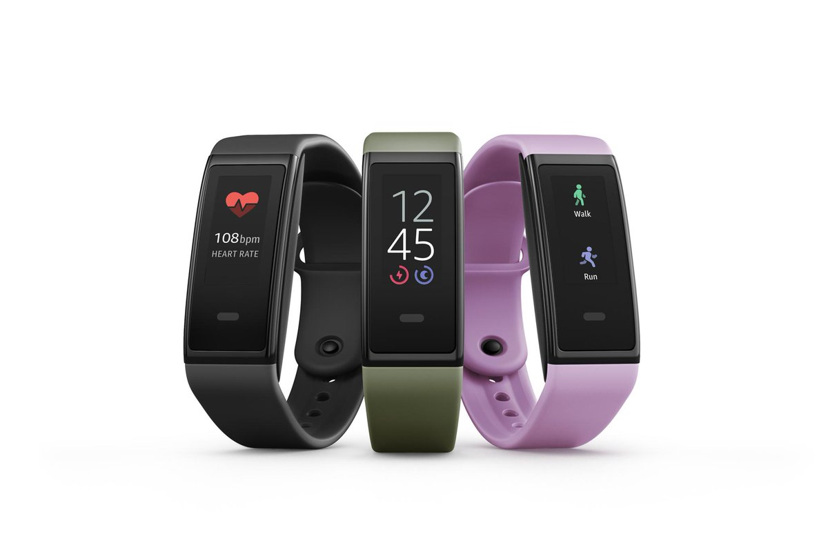 Amazon unveils $80 Halo View fitness band to take on Fitbit