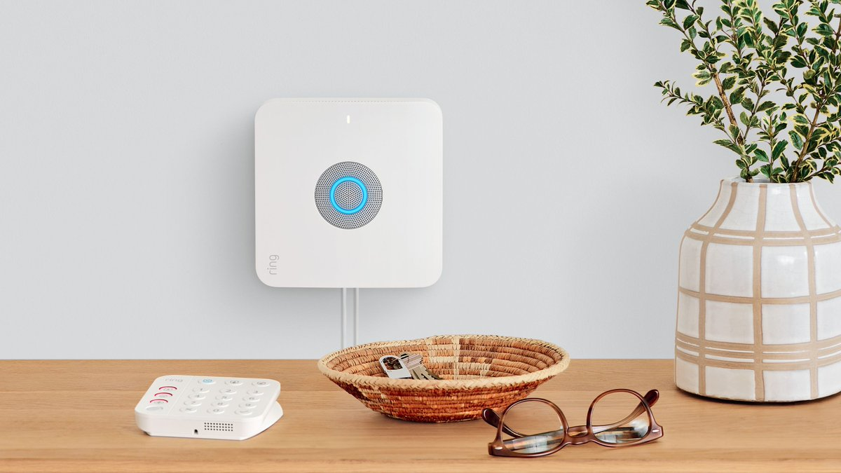 Amazon's new Ring Alarm Pro combines a security system with an Eero router