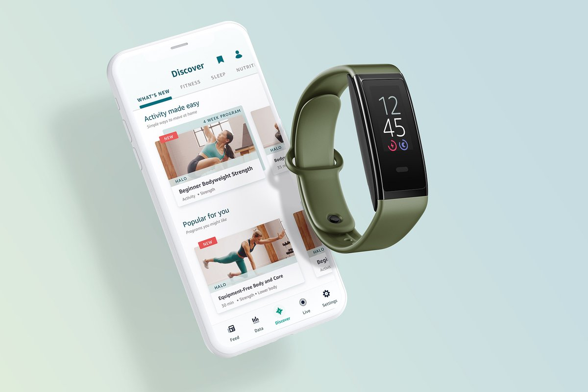 Amazon takes on Apple with fitness and nutrition services for Halo devices