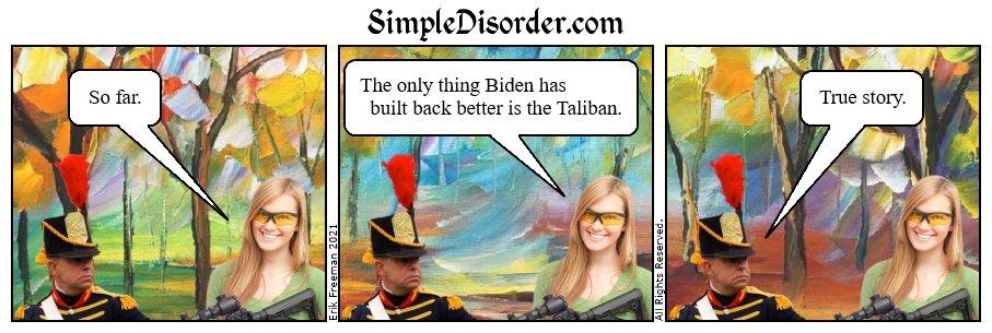 Better? #BuildBackBetter #TalibanTakeover #TalibanTerror #Milley #FJoeBiden #BidenIsADisgrace #Afghanistan #AfghanistanDisaster #pictures #pictureoftheday #comics #fun #funny #love #happy #smile #bestoftheday #cool #drawingoftheday #drawings