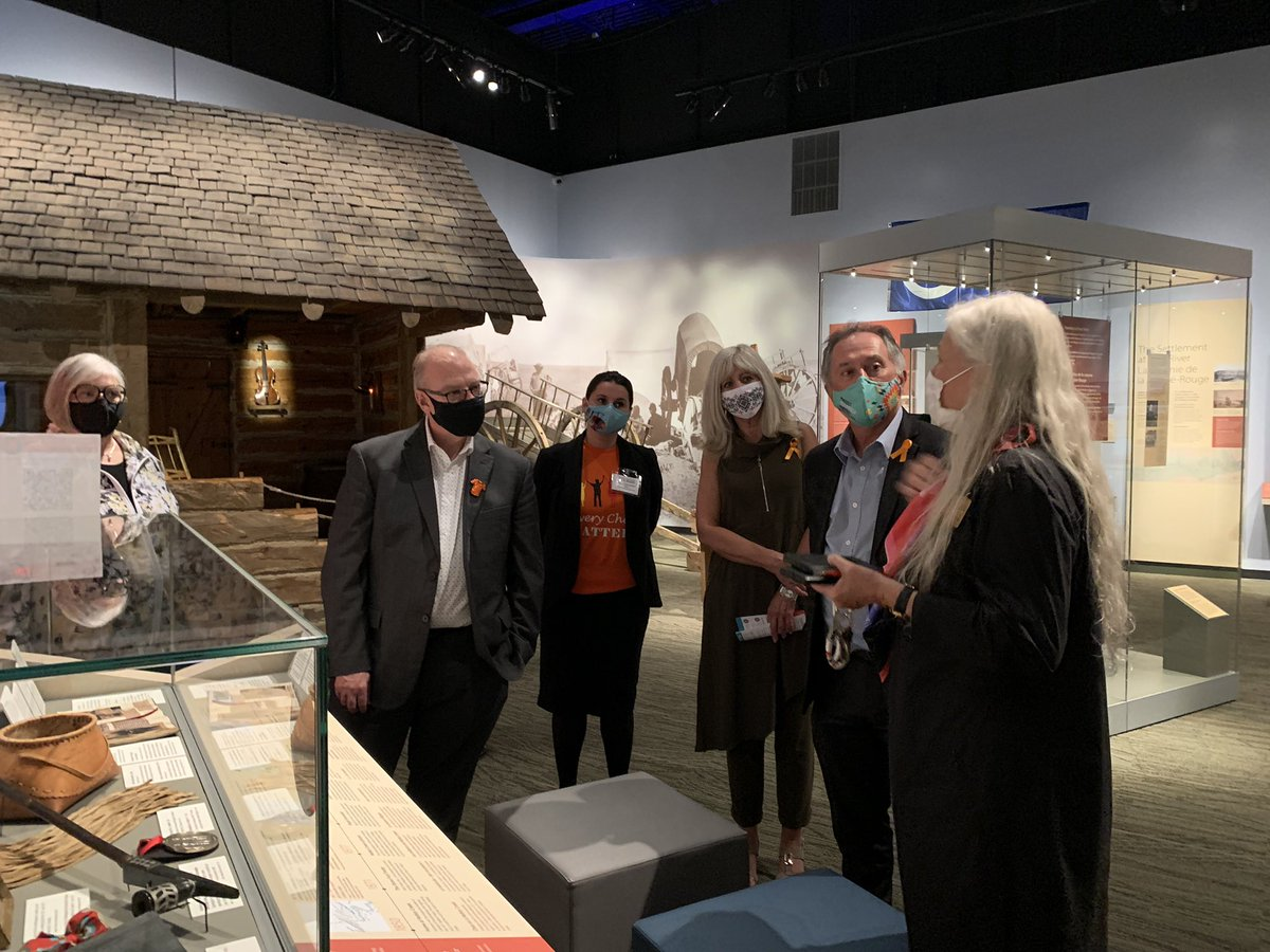 test Twitter Media - Throughly enjoyed our tour of the Manitoba Museum's Orange Shirt Day pop up exhibit, joined by @ManitobaPremier Kelvin Goertzen and @cathycox.    I encourage all Manitobans to visit the Manitoba Museum from Sept 30 - Oct 3 for free admission to all galleries. https://t.co/jBSYQ5A1R5