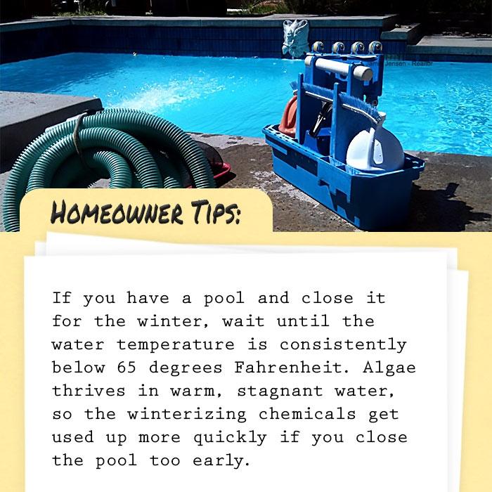 #tiptuesday #homeownertips #homeowner #tips #pool #chemicals #winter #managingbroker