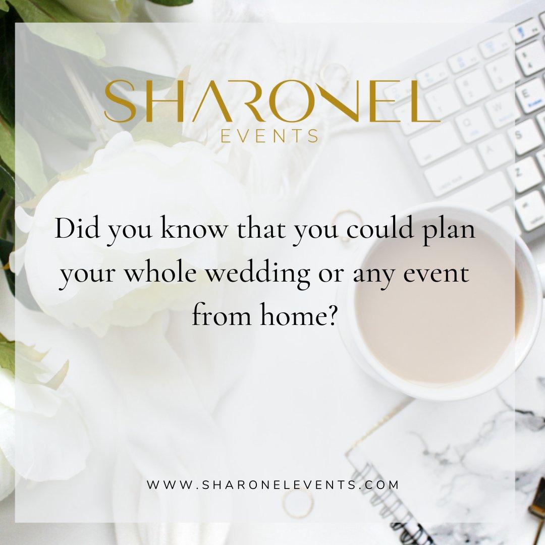 Stress-free wedding planning?? What?  Yes! It is possible with Sharonel!     #wedding #weddingplanning #love #bride #bridetobe #Bridesmaid #women #girls #vendor #USA #groom #weddingcake #weddingvendor #restaurant #sharonelevents