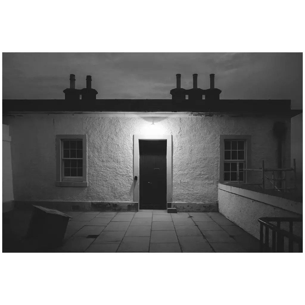 Keeper's cottage, Sumburgh Head . . . #lighthouse #monochrome #blackandwhite #Shetland #sumburgh #islandlife #night #island #Scotland #coast #photography #Fujifilm #repostmyfujifilm