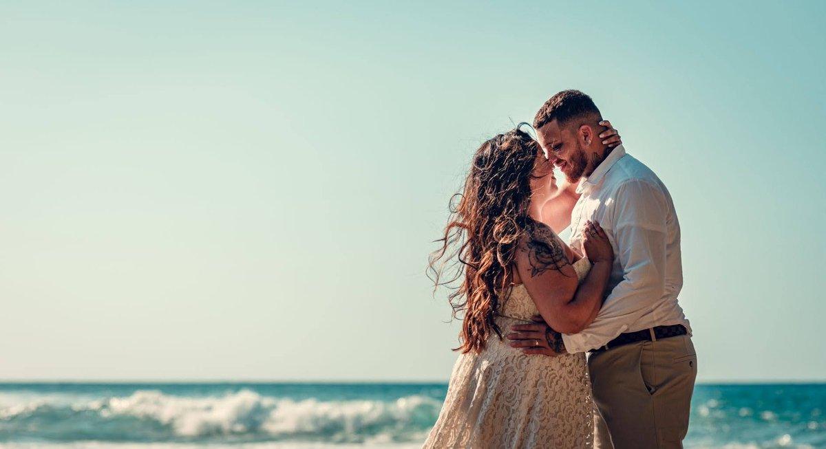 A lifetime with you by the sea…✨  Shot of Amanda & Desmin's ceremony at Puerto Hermina.  Photo: @AJRphotostudio  #wedding #sea #ocean #nature #travel #puertorico