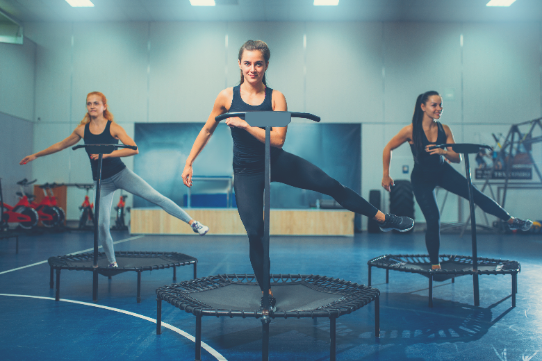 """""""BEST EXERCISE TRAMPOLINE WITH BAR FOR A FUN WORKOUT"""" Read more here:  #fitness #workout #review #best #fun"""