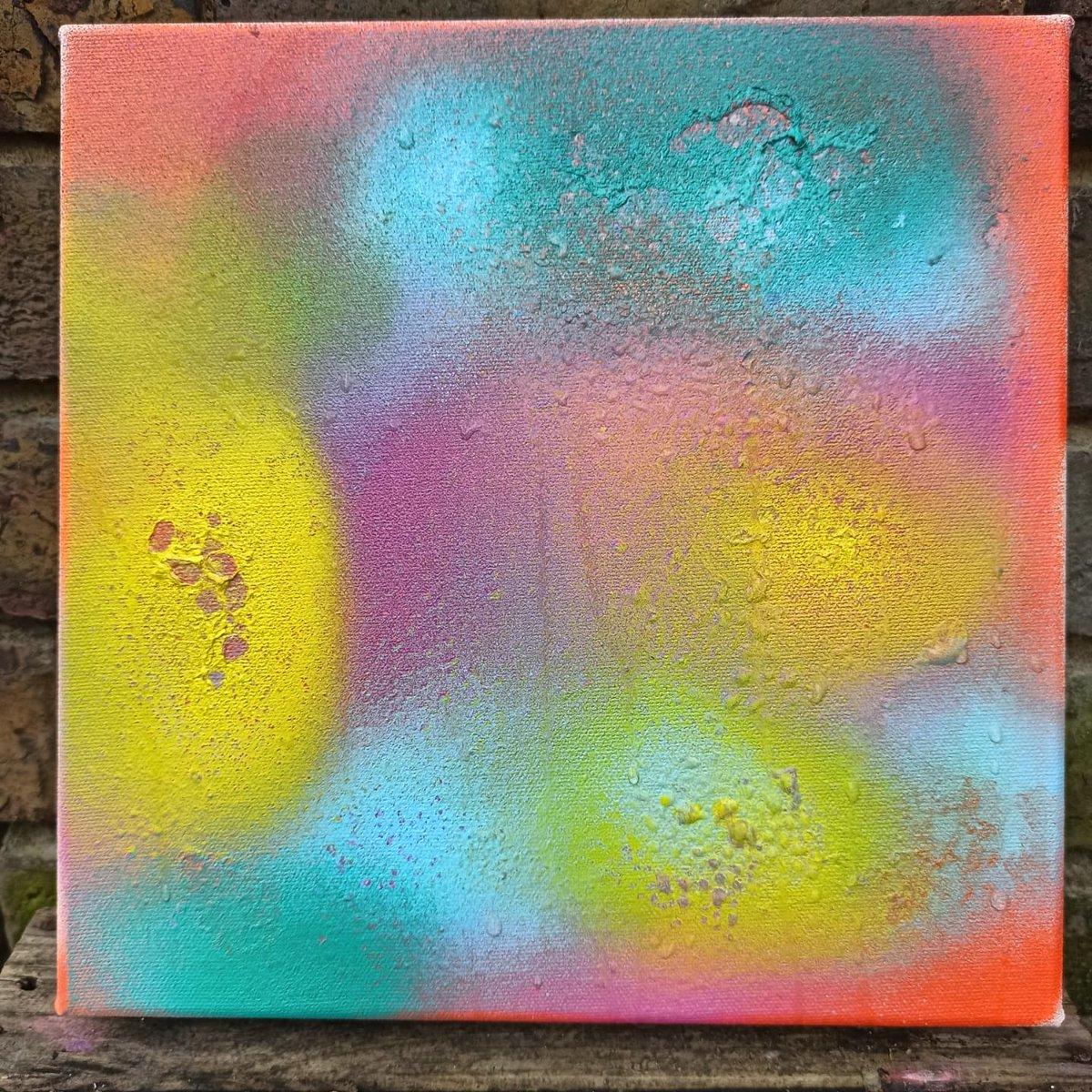 Sunrise. Mixed media on canvas. 🙏🤩🙏 #abstractart #artoftheday #abstractartists #abstractpainting #abstractartist #abstracts #brentfordtw8 #brentford #brentfordriviera #brentforddock #contemporarypainting #contemporaryart #instaart #instagood #colourpop #artforsale