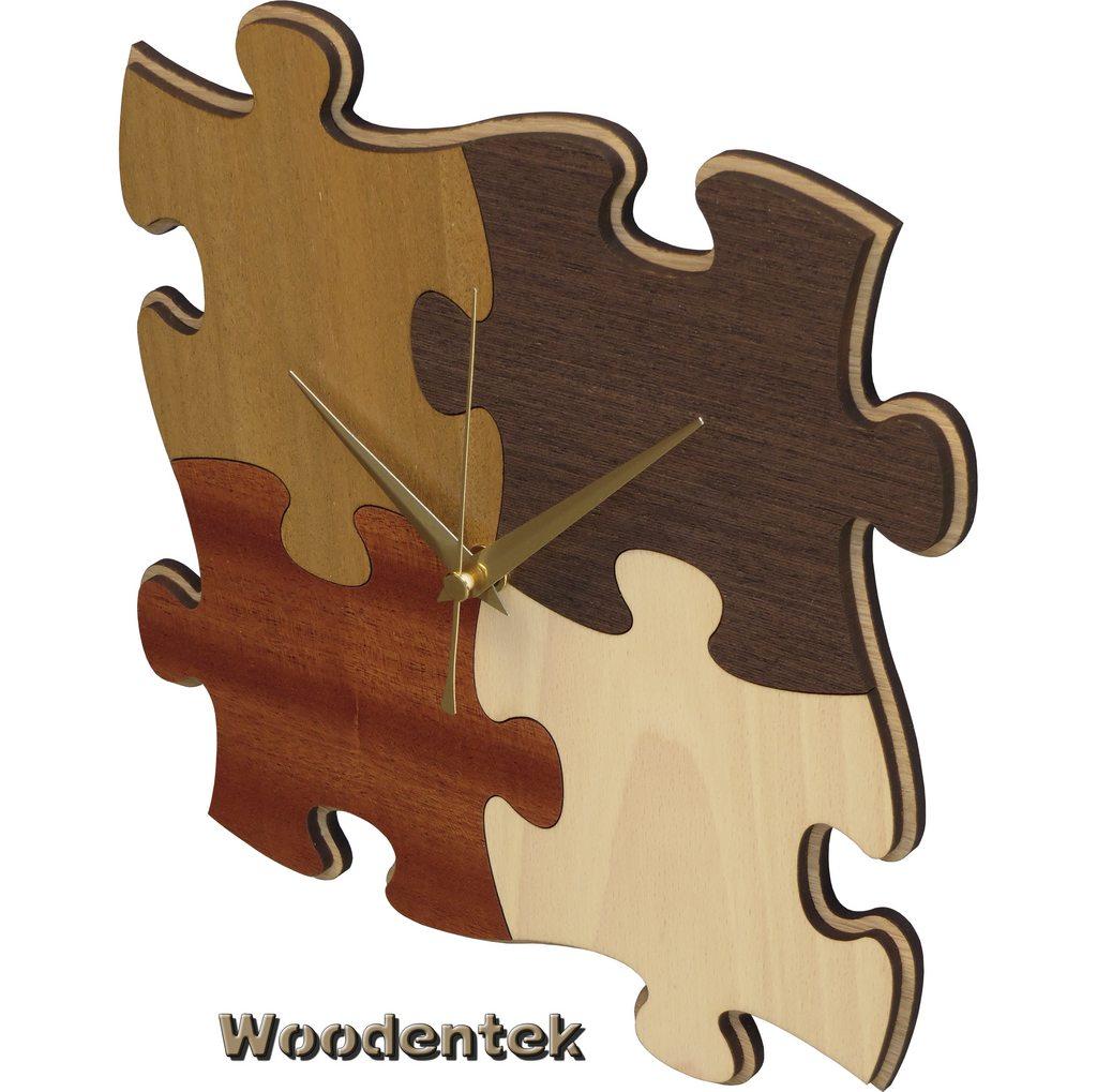 Handmade #Puzzle wooden clock  #instagood #BirthdaySurprise - WorldwideShipping