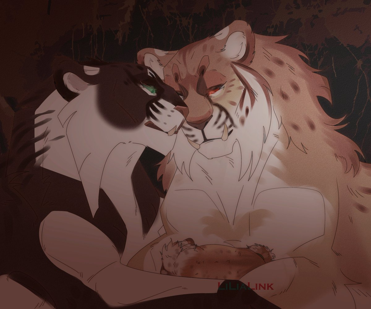 -I'll call her Goyo Tsetseg...  #lion #tlk #TheLionKing #TheLionGuard #tiger #fangs #species  #characterdesign #illustration #ArtistOnTwitter #art    #Senlin