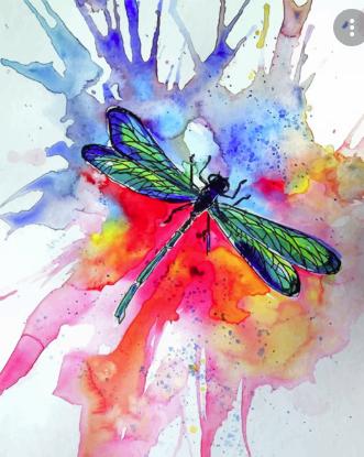 #favepics #art #dragonflies #aesthetic #nature 🌿✨✨✨