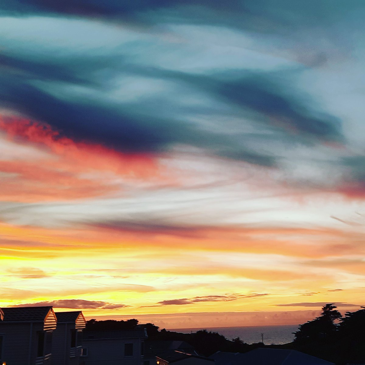 I wanted to share this amazing sunset, taken on the first anniversary of my daughter's passing. It gave me hope and strength.   Love & light  Louise   @GalenaWellbeing  #hope #strength #Wellbeing #sunset #selfcare #loss #positivity #Mentalhealth