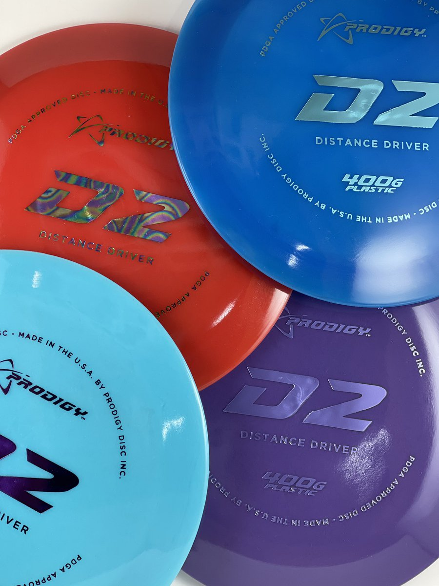 Looking for Kevin Jone's baby D2? We have them in stock now! Sorry, no KJ skills included. These things are almost magical though. #prodigydiscs #prodigy #discgolf #d2 #dg #400g #growthesport #plasticaddict #yummy #driver #distance #throwforshow #disc