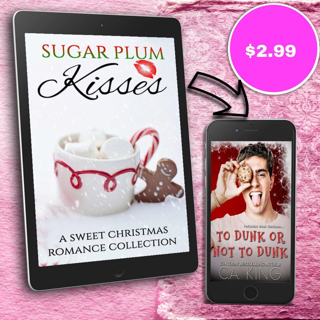 Sugar Plum Kisses  Do you hear the sleigh bells ringing? #Preorder Now Available Universal  Amazon  GR TBR  Bookbub  #HolidayReads #Anthology #SweetRomance #SugarPlumKisses #SPK #Christmas