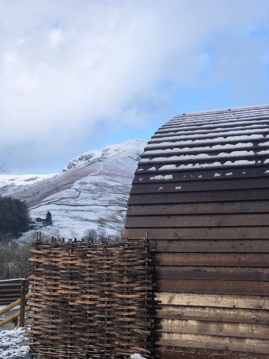 We may be fully booked on the #farm for #Christmas & #NewYear but we still have lots of #winter availability!  Come and enjoy something a bit different in one of our two luxury #glamping #cabins with #cosy log burners & epic views.     #LakeDistrict