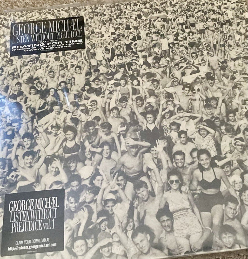 Never tire of this album. Possibly his best. Tracks like 'Mother's Pride' and 'They Won't Go When I Go' make me emotional every single time. A true classic. #ListenWithoutPrejudice #GeorgeMichael #Music