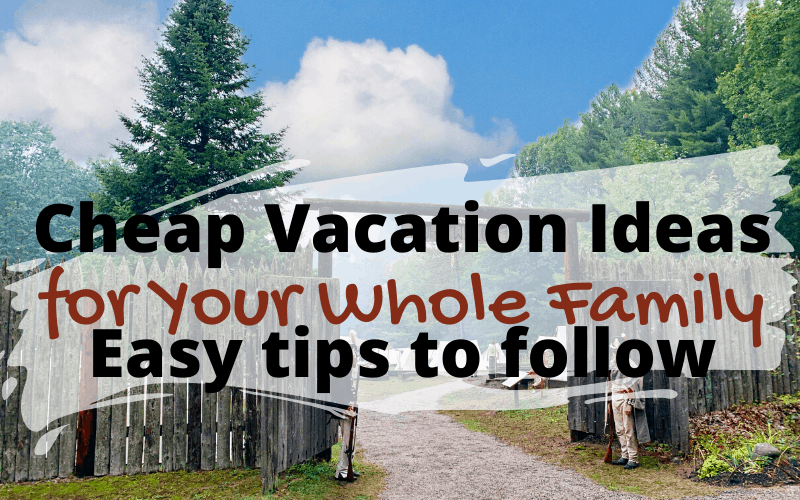 In the midst of a pandemic, how do you take your family on a vacation?  Here's Cheap Vacation Ideas For Your Whole Family by @tappedouttravel   #Family #Vacation #Travel