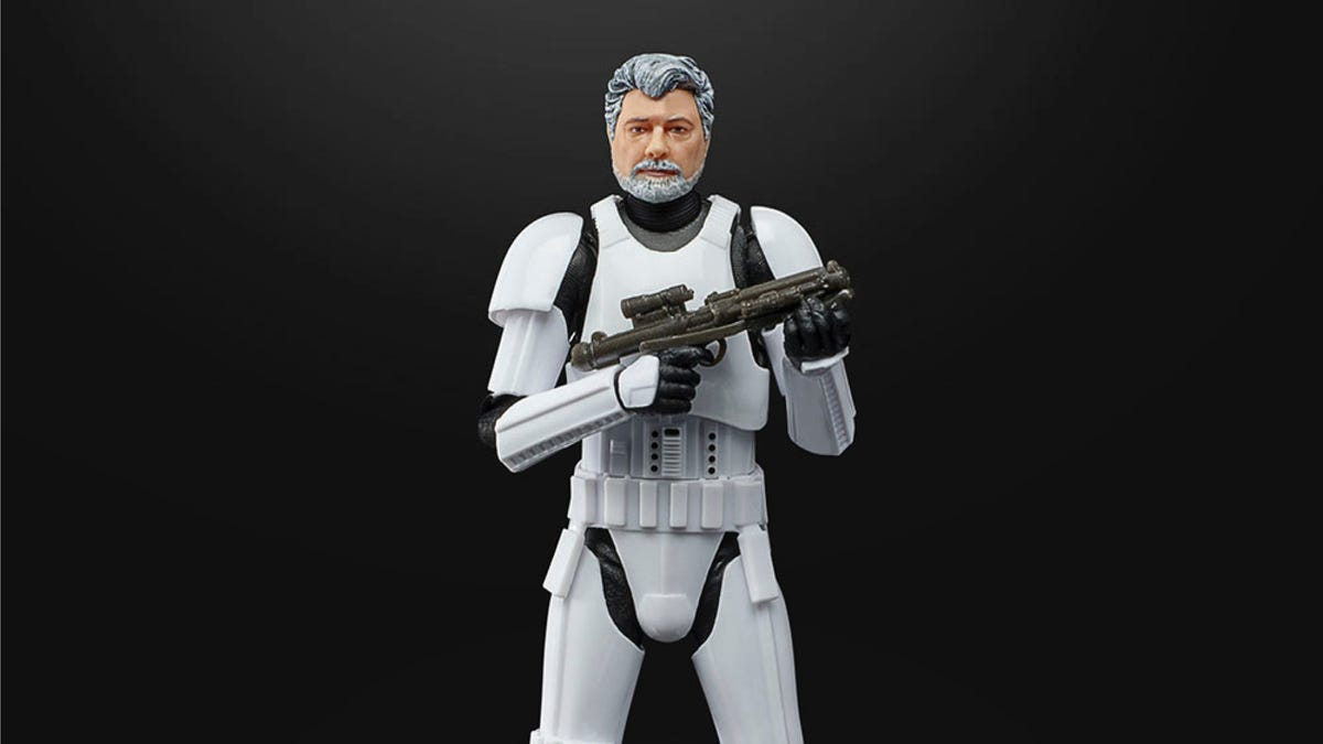 George Lucas Is a Star Wars Toy (Again)