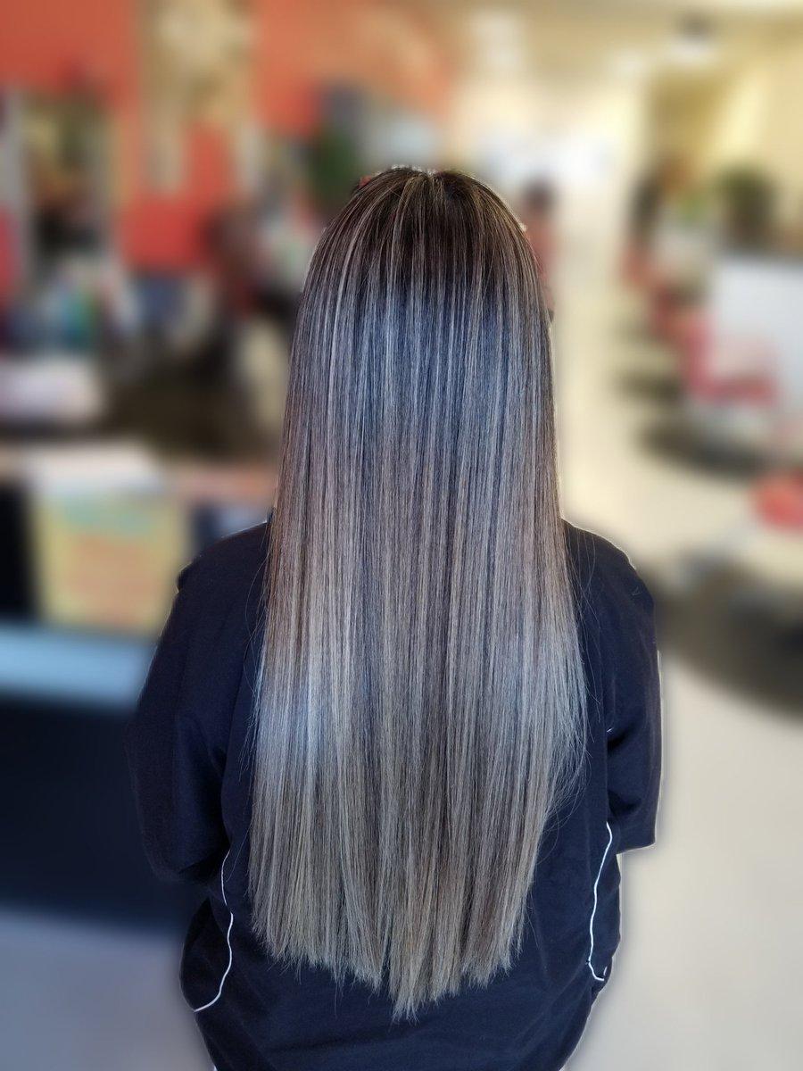 Balayage on long hair 😍 #SanAntonio #sanantoniotx #satx #HairTwitter #hair