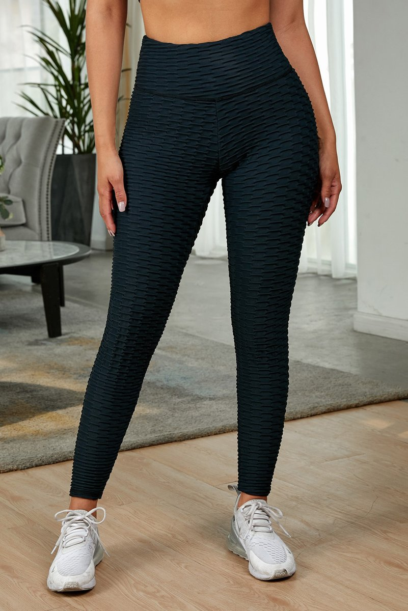 """The Stylish """"Black Perfect Shape Leggings"""" You're Looking For Is In Stock. Low Prices For Limited Time. Come Get It!   #Black #Bottoms #YogaPants"""
