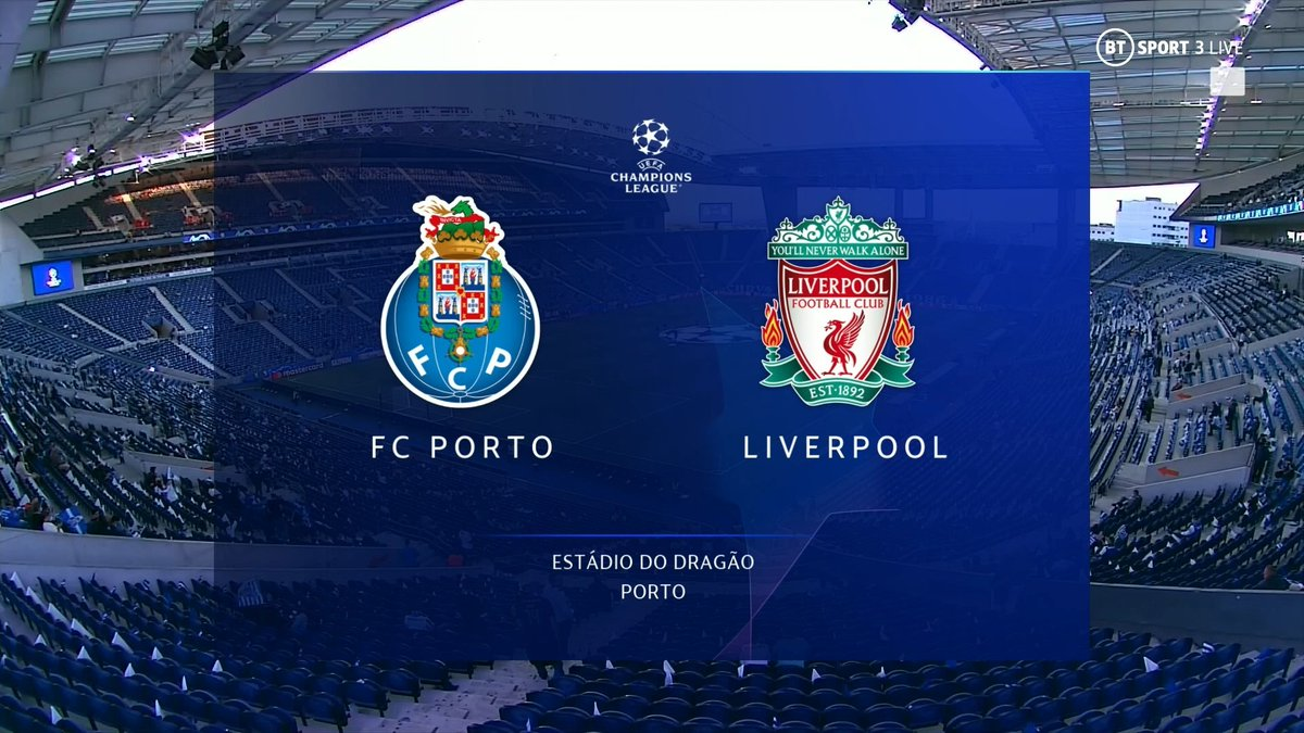 Full match: Porto vs Liverpool