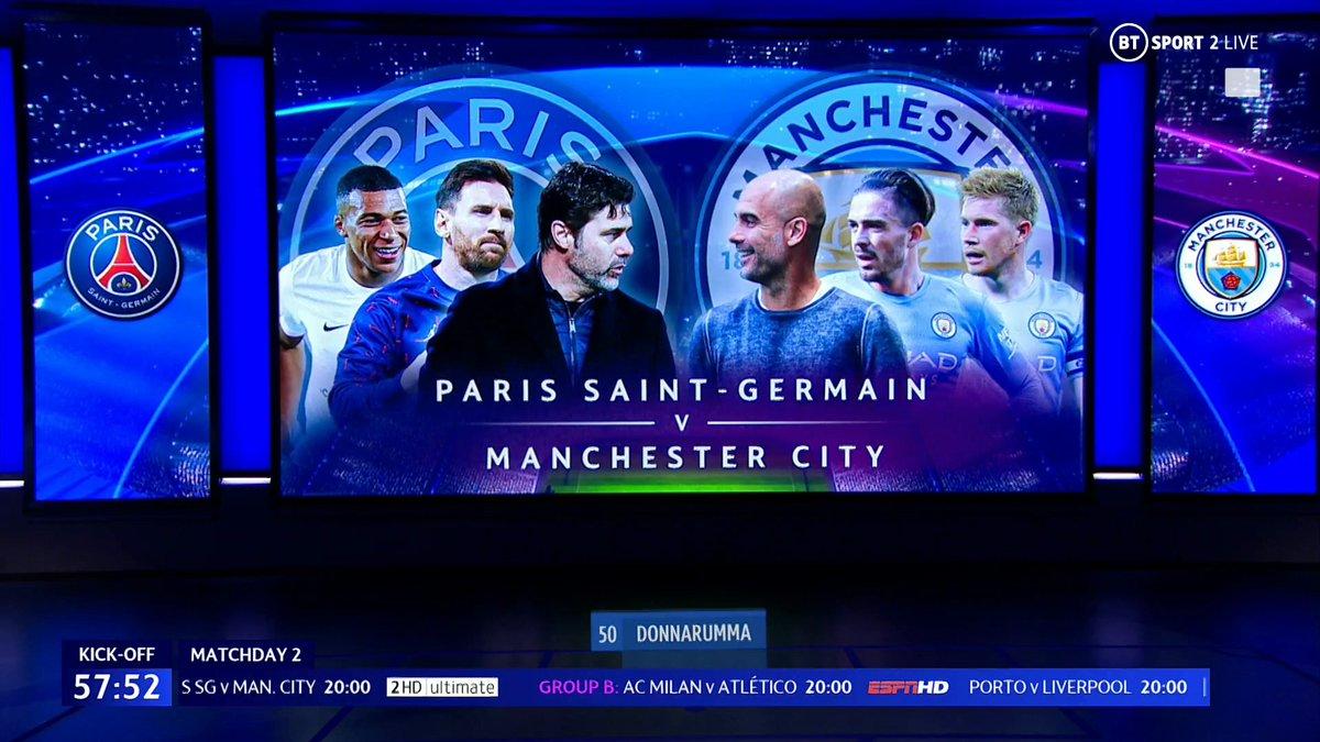 Full match: PSG vs Manchester City