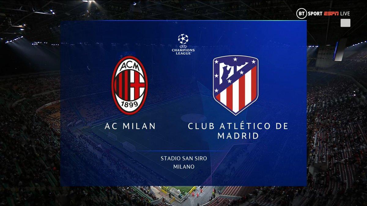 Full match: AC Milan vs Atletico Madrid