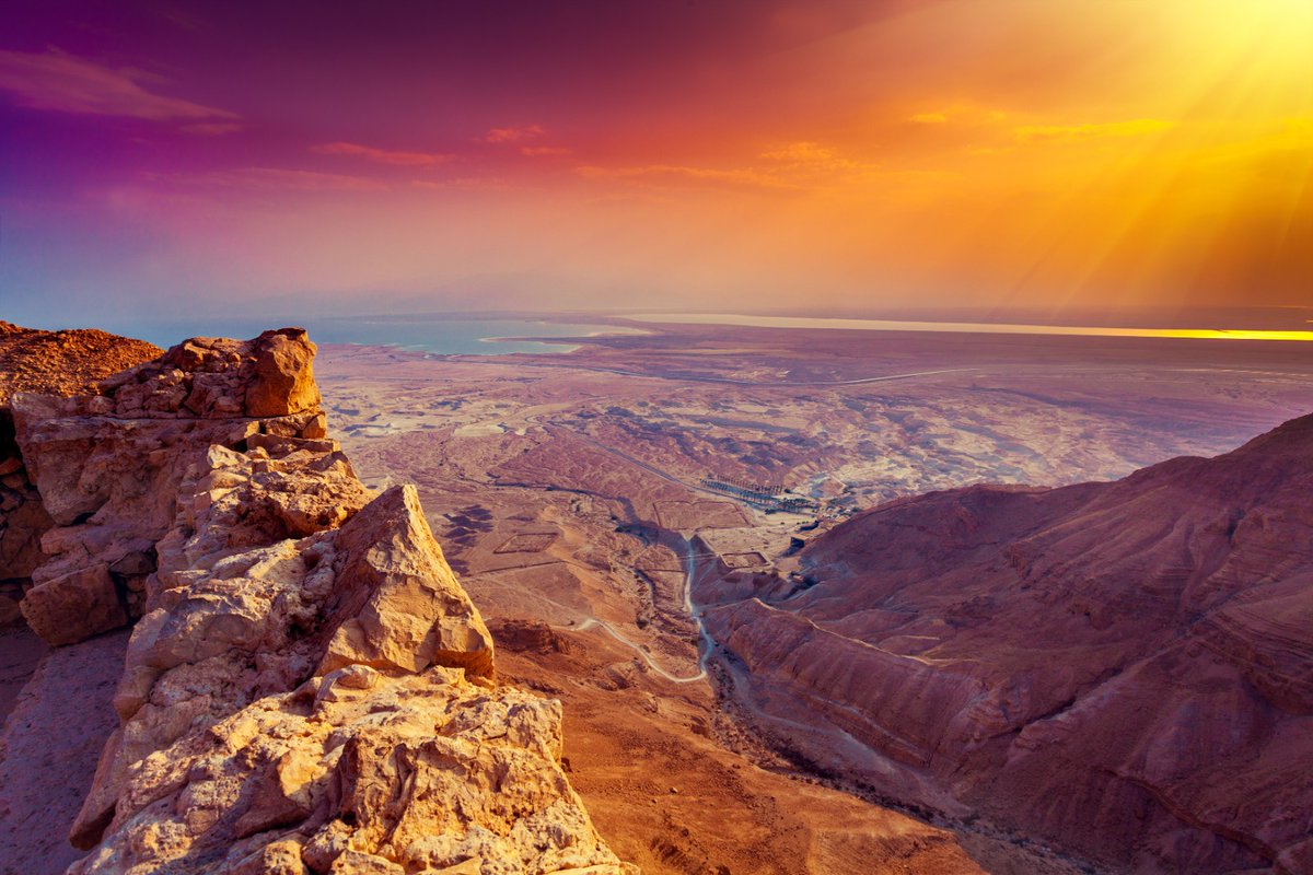 أسعد الله صباحكم من إسرائيل الجميلة..  …