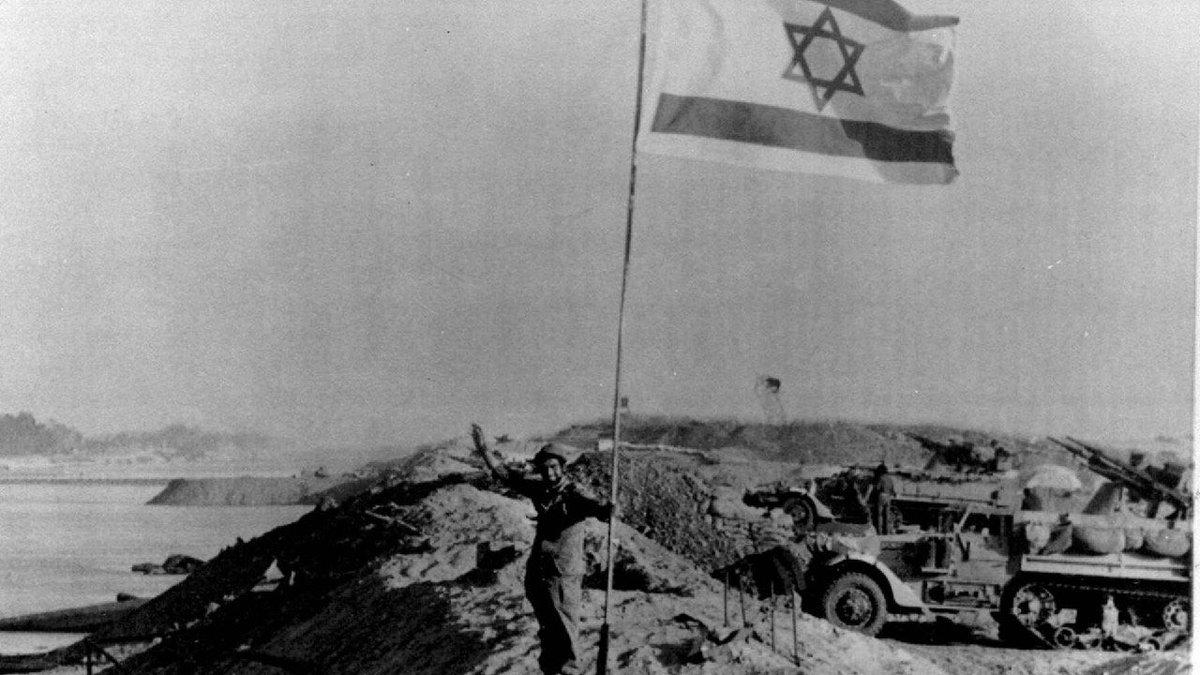 في أقدس أيام السنة وهو يوم الغفران غُدر جيش الدفاع بهجومين متزامنين على الجبهتين