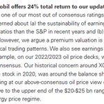 "Image for the Tweet beginning: Goldman on XOM - ""we"