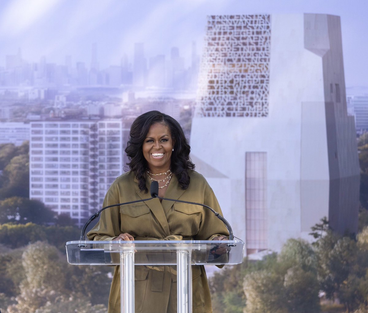 One of the greatest honors of my life is being a proud Chicagoan—a daughter of the South Side. When it came time to decide where Barack and I would build the Obama Presidential Center, we knew it had to be in the place we call home. We can't wait to see this project come to life.