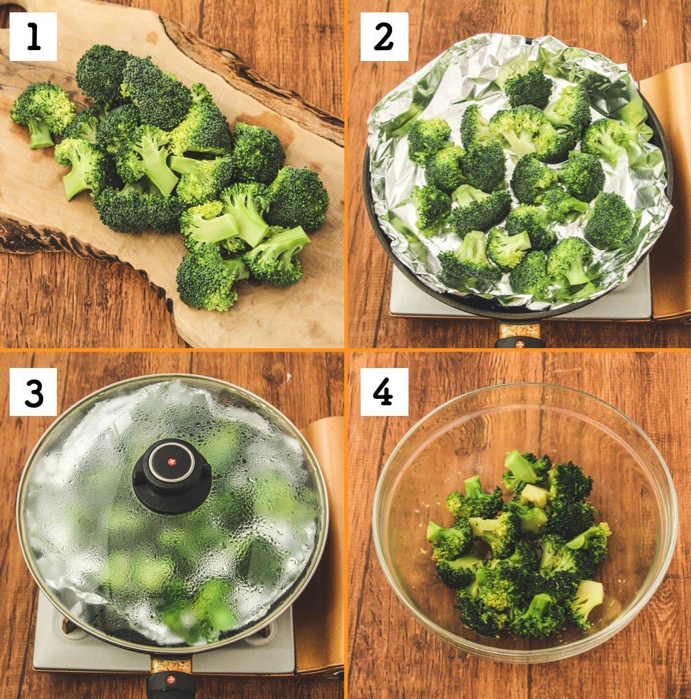 箸が止まらない!「塩だれ」で食べるブロッコリー!