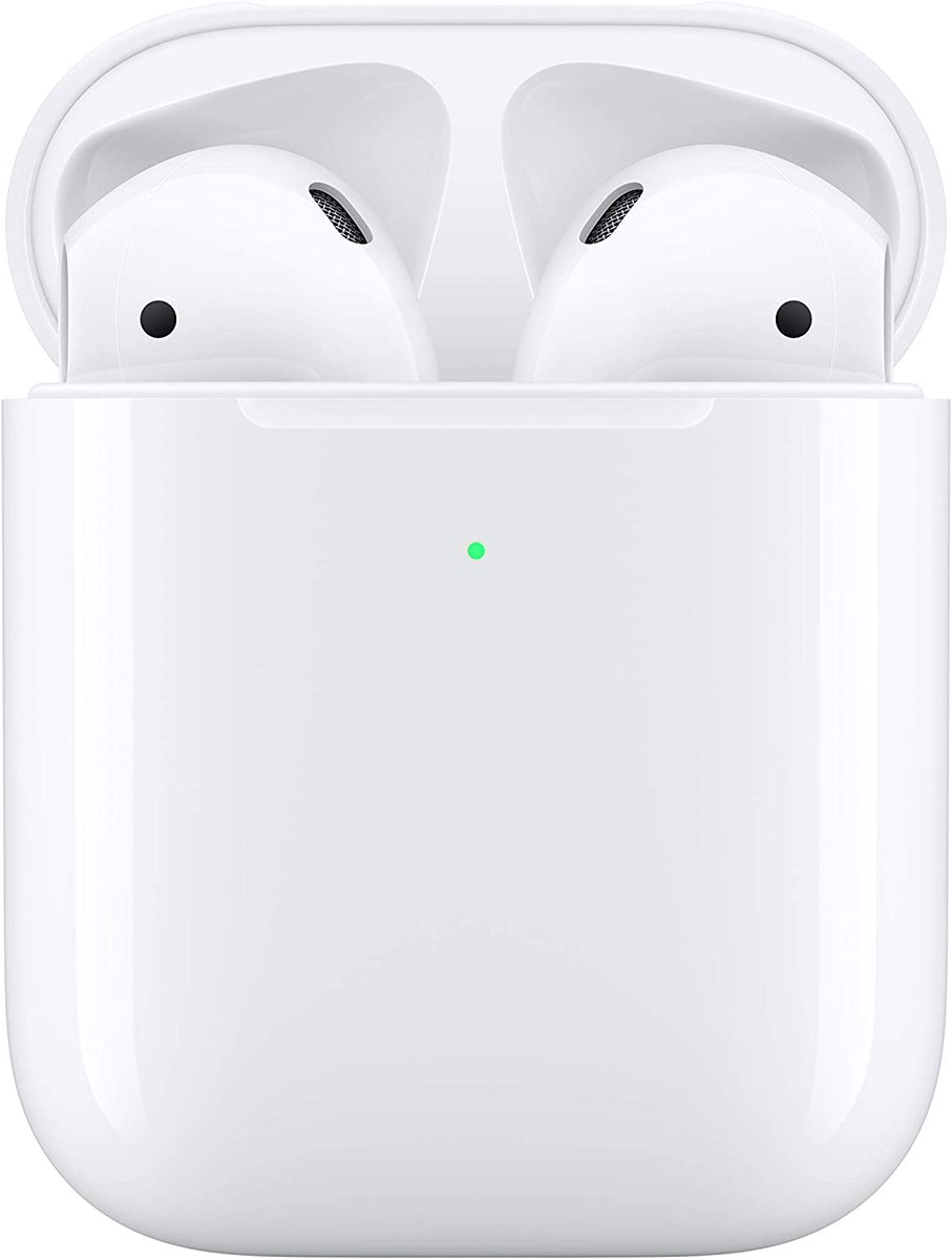Apple AirPods (2ª Gen, carga inalámbrica)