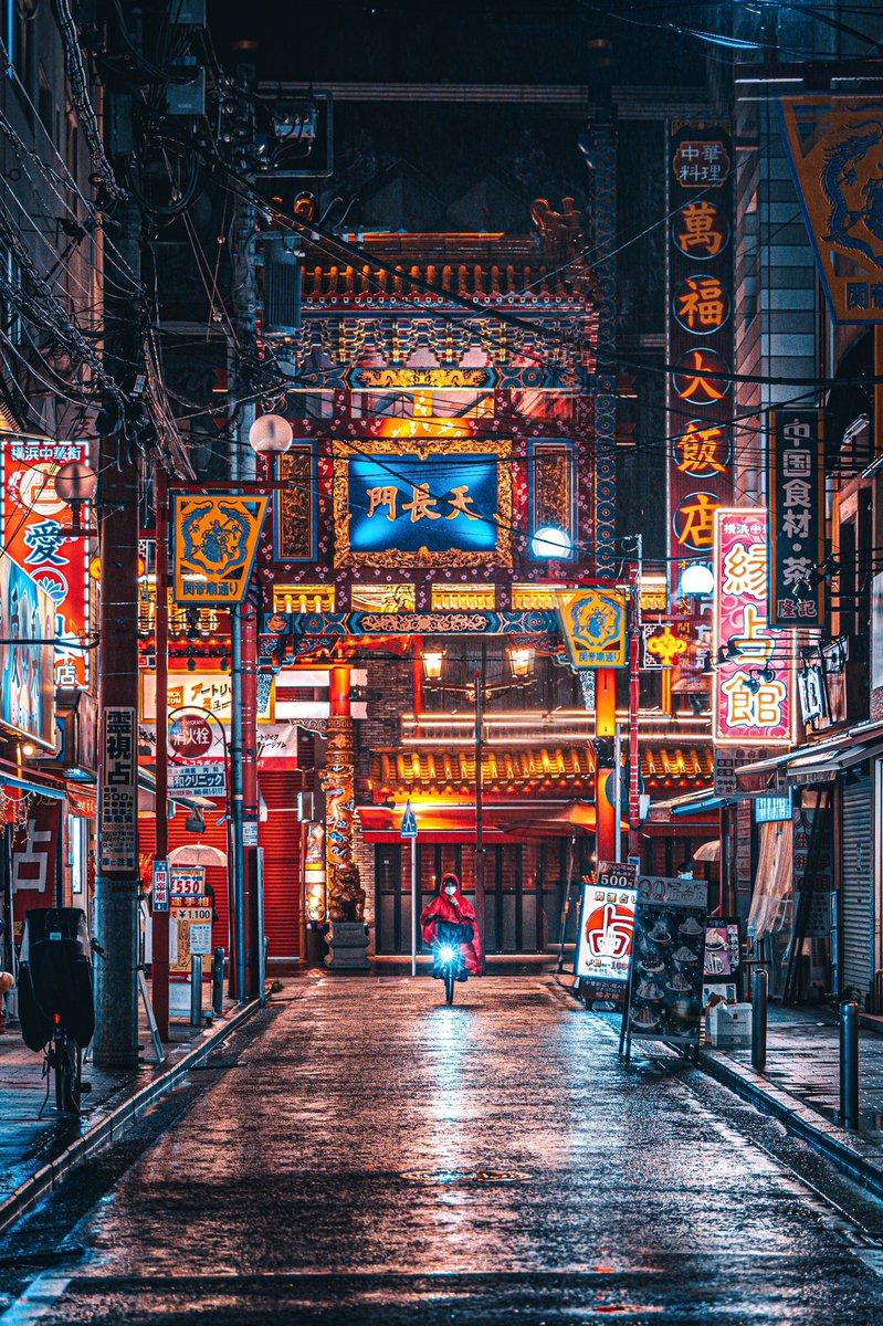 そこは別世界だった!?雨の日に撮る横浜中華街の姿!