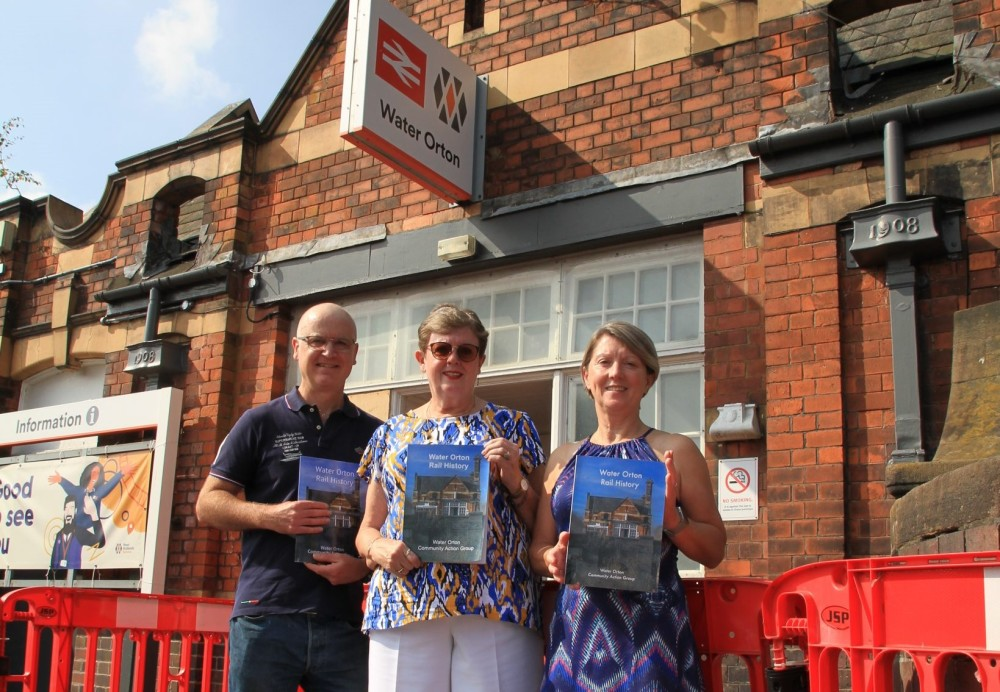 A new book exploring the history of #WaterOrton station in #Warwickshire has been published following a community grant from @WestMidRailway https://t.co/I1q1NjIFvy https://t.co/TUX7gkCi7M