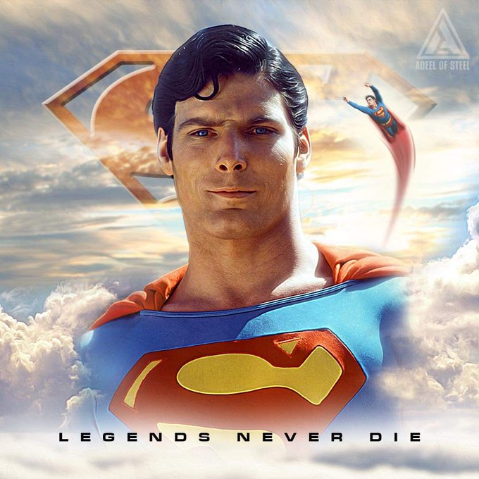 Happy Birthday Christopher Reeve. Gone but not forgotten.