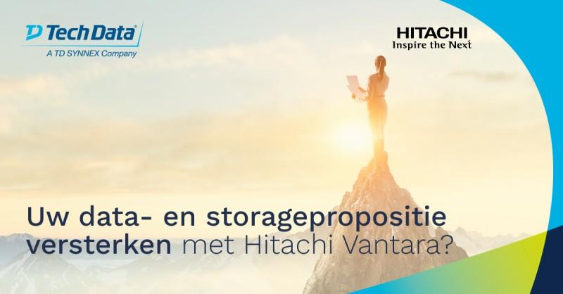 Als partner van Hitachi Vantara biedt u de…
