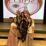 Our last house event :( It has been an honour being Curie house leaders this year and we wish the best of luck to the new ones! Thanks for everything! Imogen, Ella, Bianca, Serena and Jasmine #curie ❤️