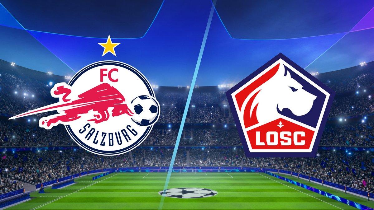 RB Salzburg vs Lille Highlights 29 September 2021