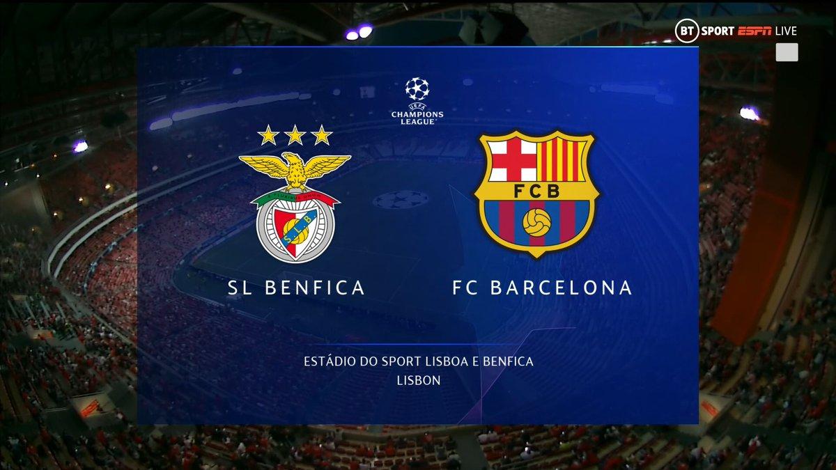 Full match: Benfica vs Barcelona